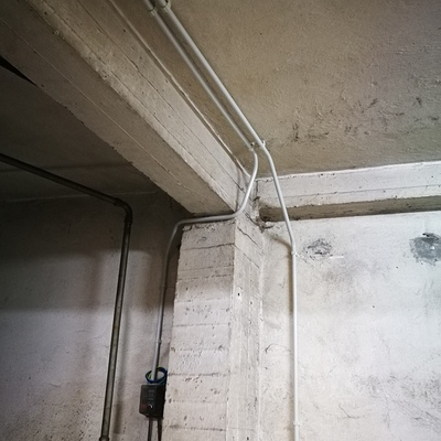 Instalación con tubo rígido