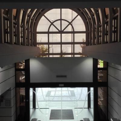 Interior hall edificio 12 estrellas
