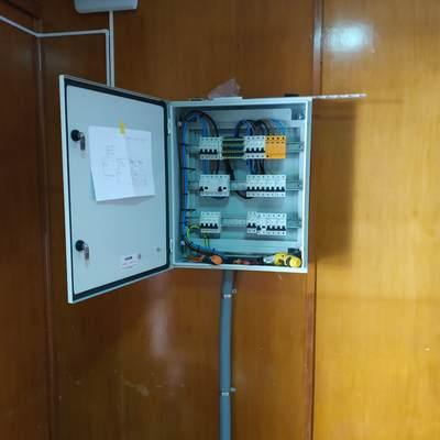 Cableado de cuadro de mando y protección industrial
