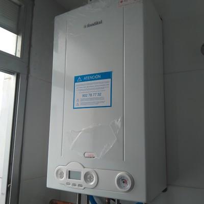 Instalación caldera gas condensación