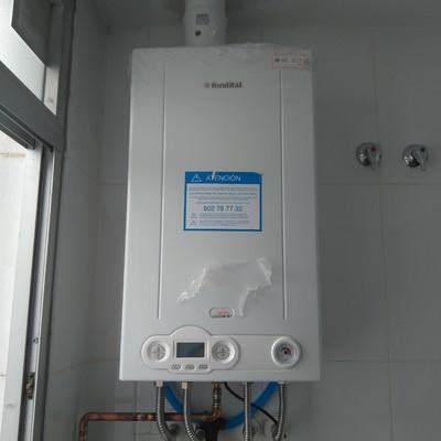 Instalacion caldera gas de condensación