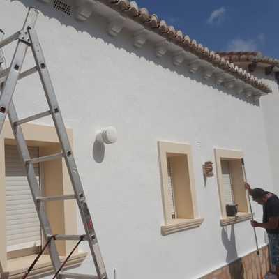 Pintura de Marcos de ventana