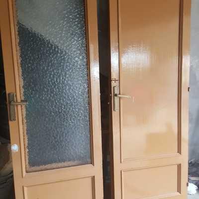 Puertas antes de pintar