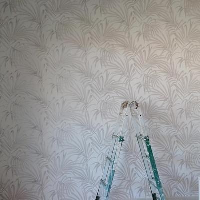Papel pintado con palmeras
