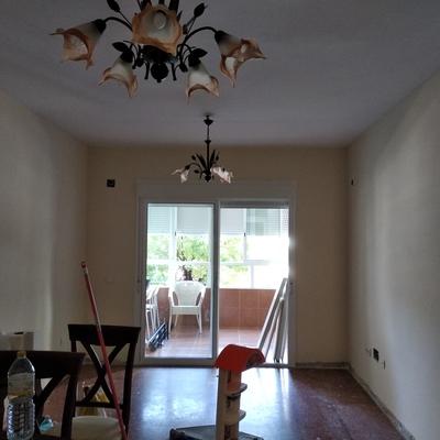 Alisado techo y paredes y pintado