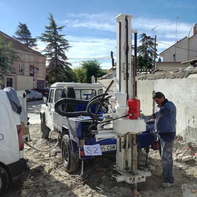 Estudio Geotecnico en la Calle del Consuelo en Ciempozuelos (Madrid)