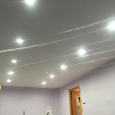 Trabajos de Pladur e iluminacion