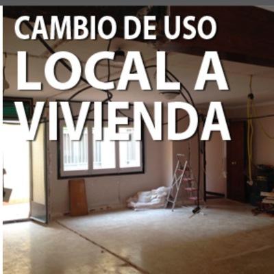 Cambio de  Uso Local a Vivienda