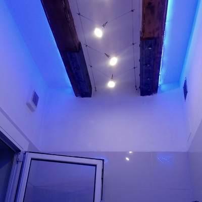 Iluminación de wc