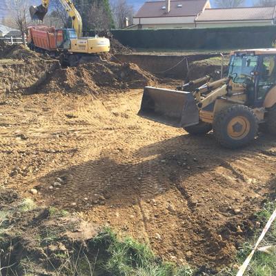 Escavacion vivienda