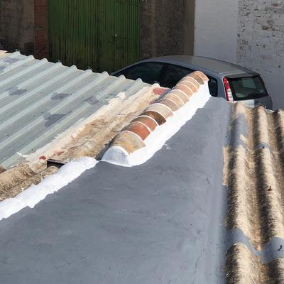 Eliminación de filtraciones de agua en cubierta