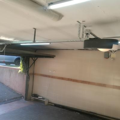 Instalacion de motor de techo en casa particular.