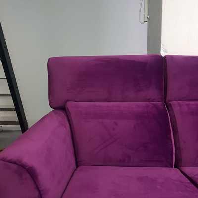Sofa berenjena