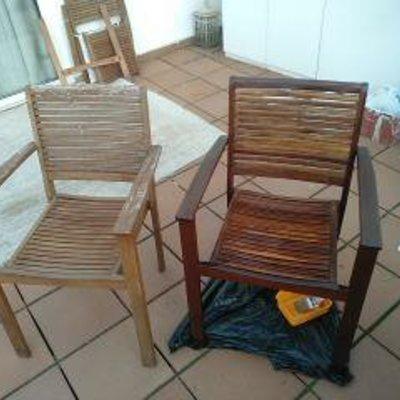 Restauración sillas madera