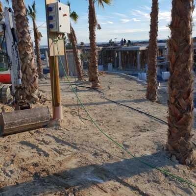 Limpieza y preparación terreno para Césped artificial