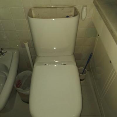 Desmontaje de tapa de cisterna