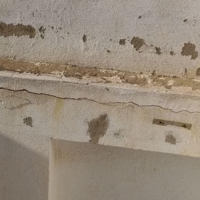 Impermeabilización y saneado de fissura