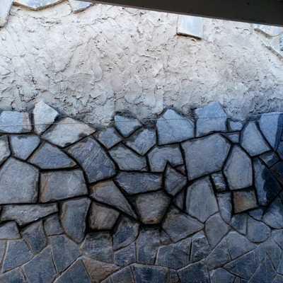 Colocación piedra