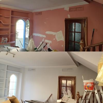 Reparar y pintar