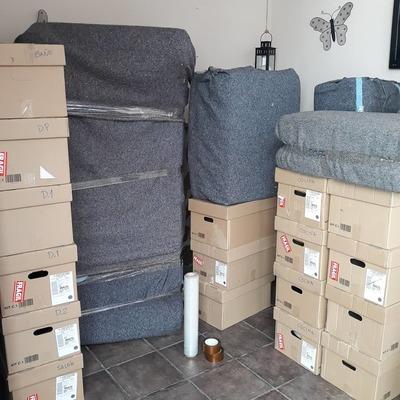 Embalaje de mobiliario y enseres