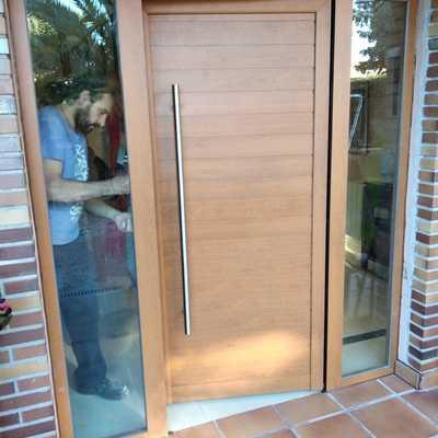 Puerta seguridad Aluminio