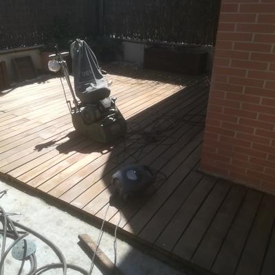 restaurado suelo jardin