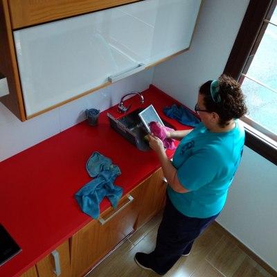 Limpieza profunda en cocina
