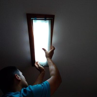 Limpieza de luminarias