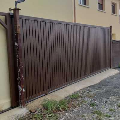 Puerta Corredera 6 metros