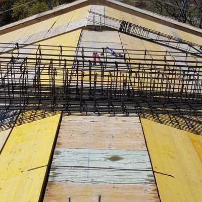 Obra tejado nuevo.