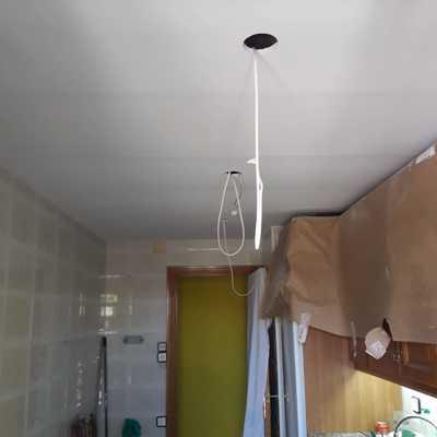 Falso techo  de pladur montado