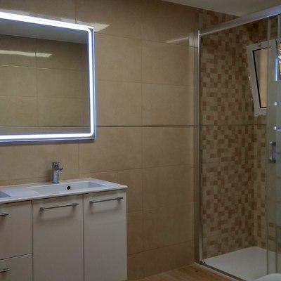 Reforma baño grande