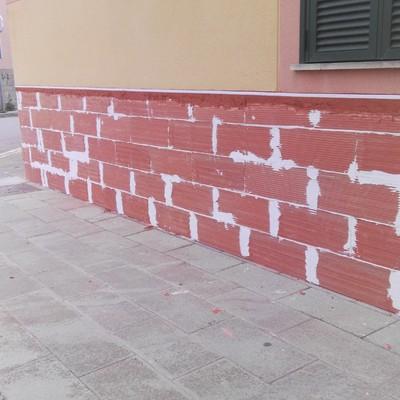 Cubierta de fachada