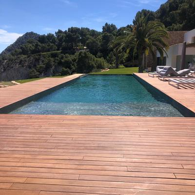 Bonita piscina...