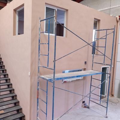 Reabilitacion pintura nave industrial!!