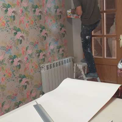 tapizados de paredes con papel