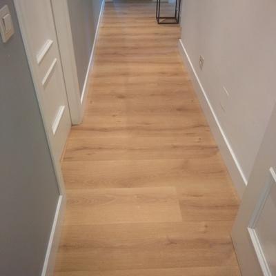 Instalción laminado Quick step