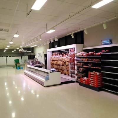 Resultado de las instalaciones del alumbrado LED en mercadona Murcia Mazarron 7
