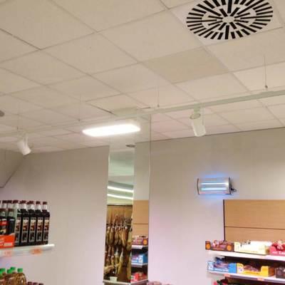 Resultado de las instalaciones del alumbrado LED en mercadona Murcia Mazarron 10