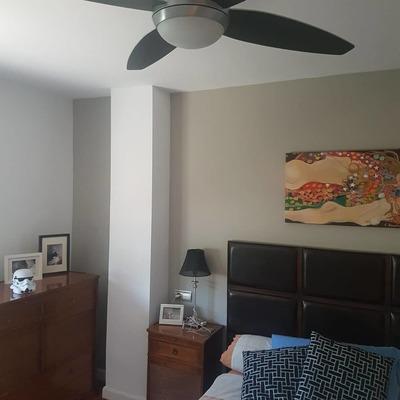 Pintura en dormitorio de matrimonio