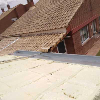 tejado de vivienda