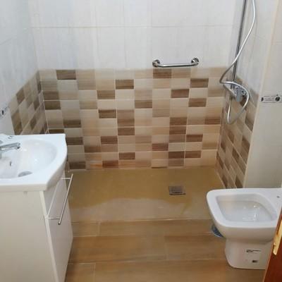 Bañera por placa