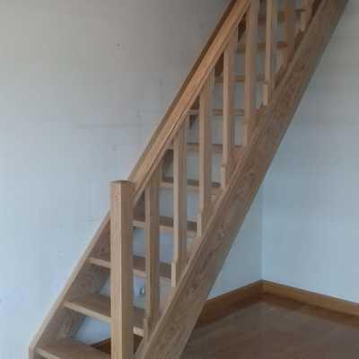 Escalera vista