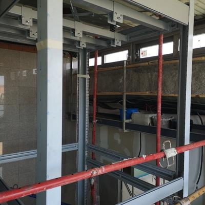 Instalacion ascensor en edificio existente Hotel Toledo