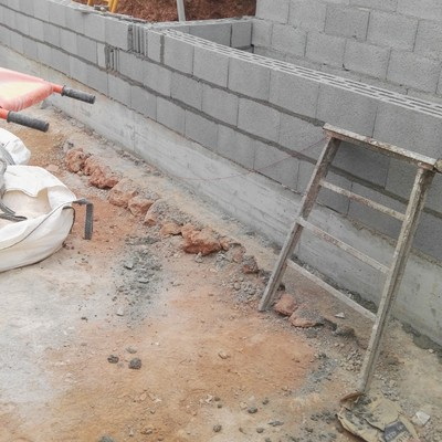 Construcción de tanques de agua