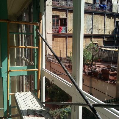 Cambio de ventanas exterior