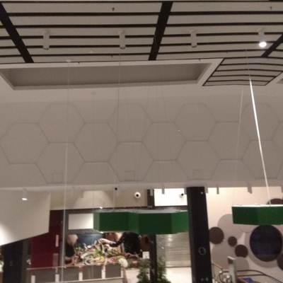 Instalación de LED's en galería del cc Luz del Tajo (Toledo)