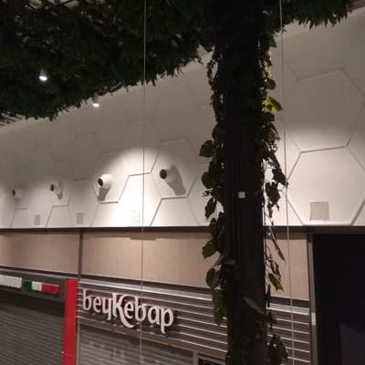 Instalación de LED's en galería del cc Luz del Tajo (Toledo) 3