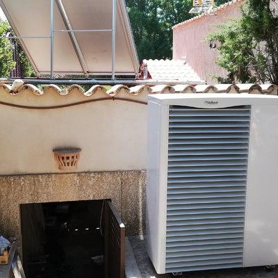 Aerotermia para radiadores
