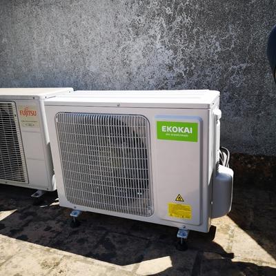 Instalación máquina EKOKAI 2250fgh R32
